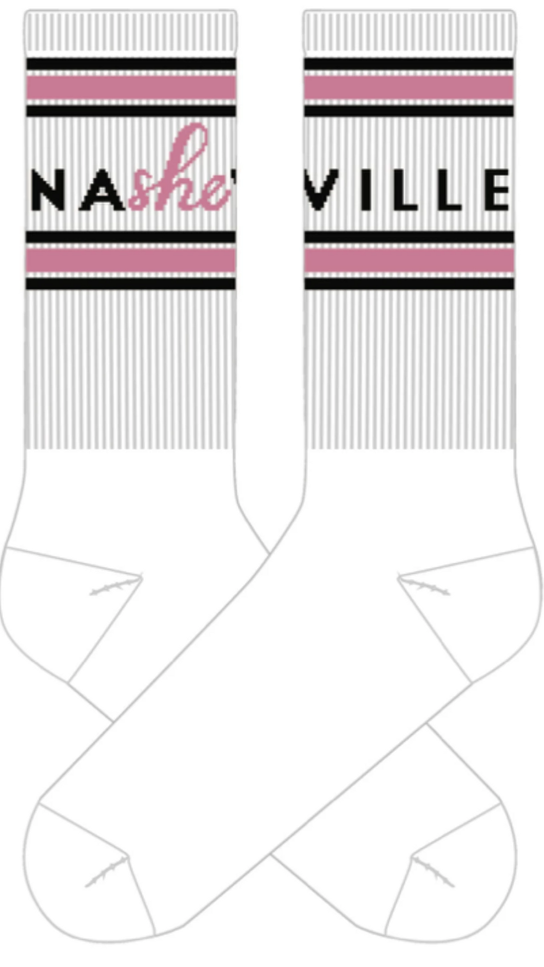 NaSHEville Tube Socks