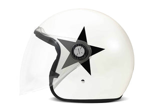 Casco DMD P1 Star White