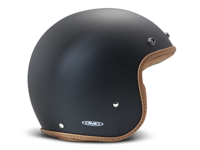 Casco DMD Leather Pillow Matt Black-Brown