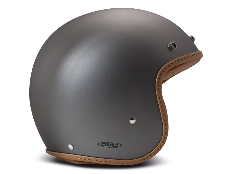 Casco DMD Leather Pillow Matt Grey-Brown