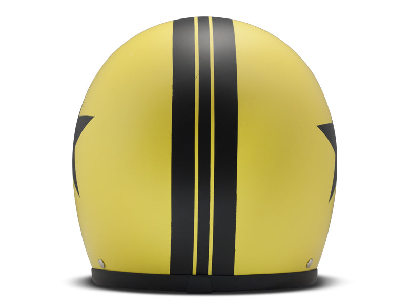 Casco DMD Vintage Star Yellow