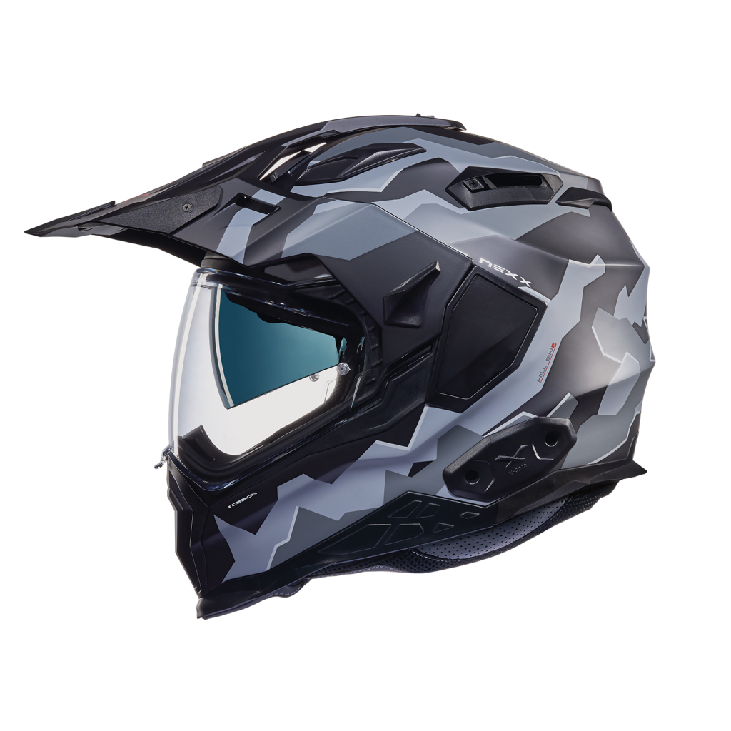 Casco NEXX Adventure X.WED 2 Hill End Negro-Gris
