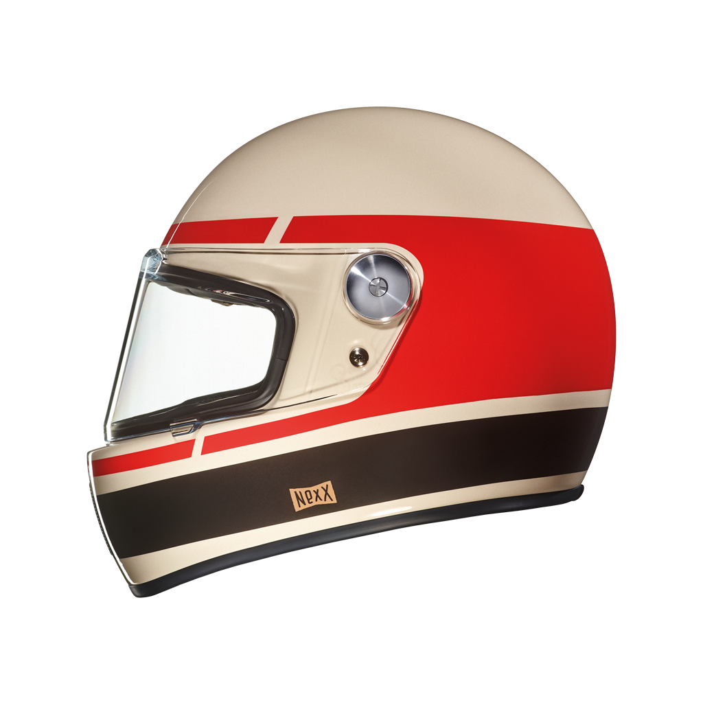 Casco Nexx Garage X.G100R Record Cream-Red