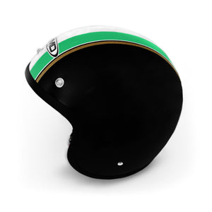 Casco DMD Vintage Black Italia