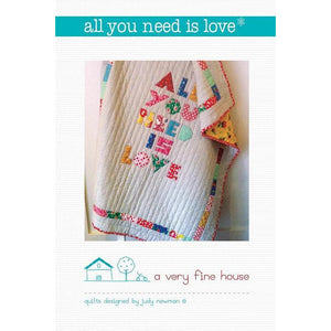All You Need is Love Pattern - Judy Newman