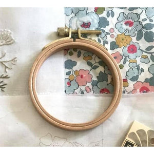 CGT - 11.5cm Timber Embroidery Hoop - Optional