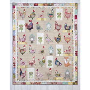 Hen House Pattern - Claire Turpin Designs