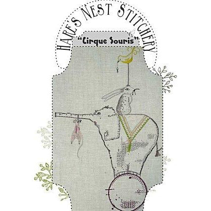 'Cirque Souris' Starter Kit - Hare's Nest Stitchery Kit