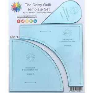 The Daisy Quilt Pattern & Templates - Emma Jean Jansen