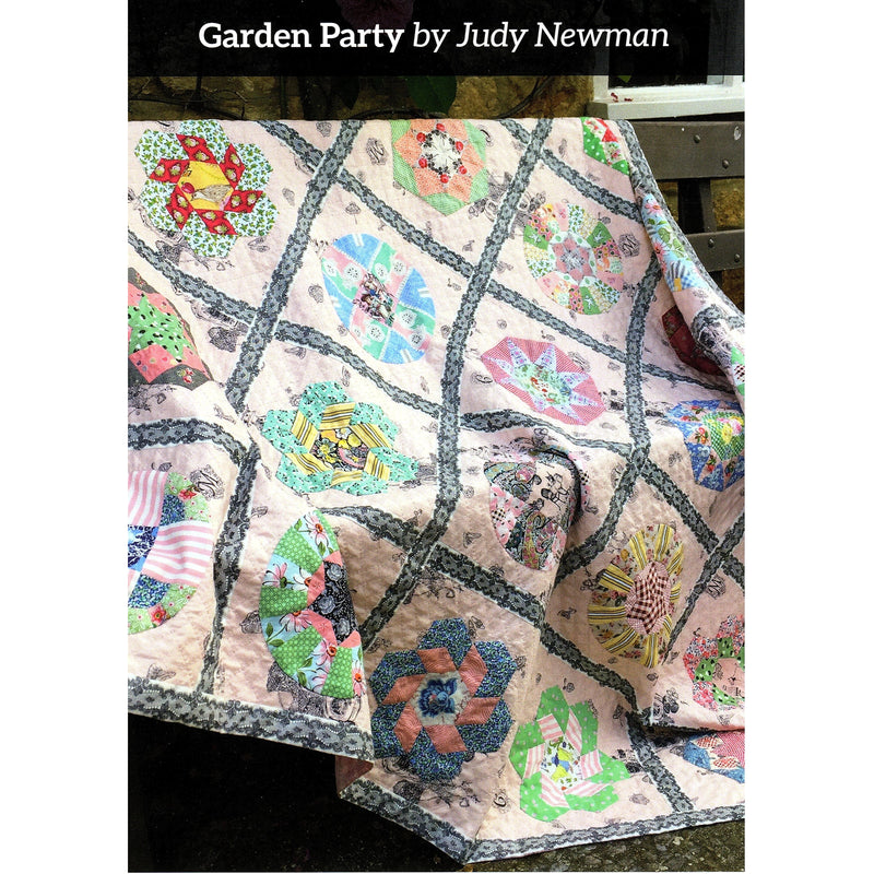Garden Party Quilt Pattern ONLY - Judy Newman