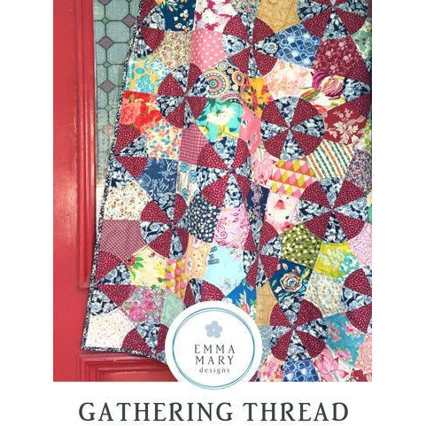 Gathering Threads Pattern & Template - Emma Mary Designs