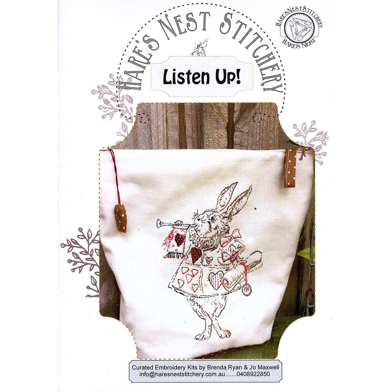 'Listen Up' Starter Kit - Hare's Nest Design