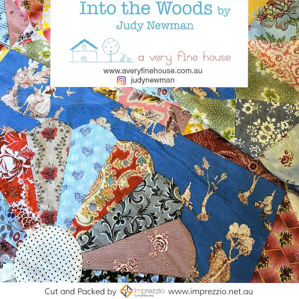Into The Woods Quilt Templates - Judy Newman