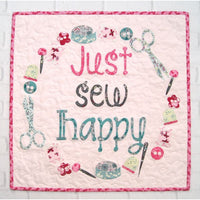 Just Sew Happy Quick Cut Kit - Tied with a Ribbon