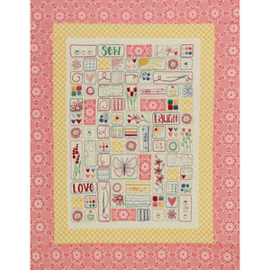 Sew, Laugh Love Stitchery - Complete Kit - Leanne's House Designs