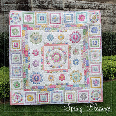 Spring Blessings BOM COMPLETE KIT PRE-ORDER - Lilabelle Lane Creations ... due mid Jan 2020