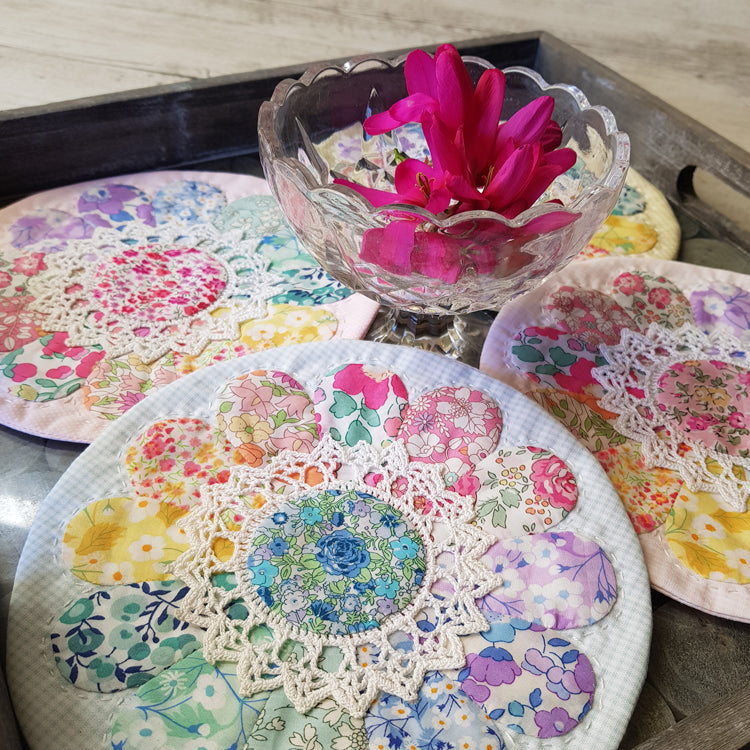 Sherbert Daisy Doily - Lilabelle Lane Creation
