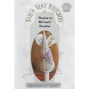 Miss/Mr Mouse Pincushion Kit - Hare's Nest Design