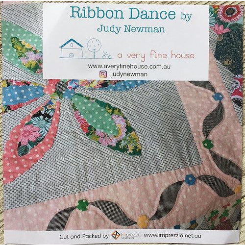 Ribbon Dance Quilt Pattern & Templates - Judy Newman
