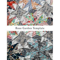 Rose Garden Pattern & Template - Emma Mary Designs