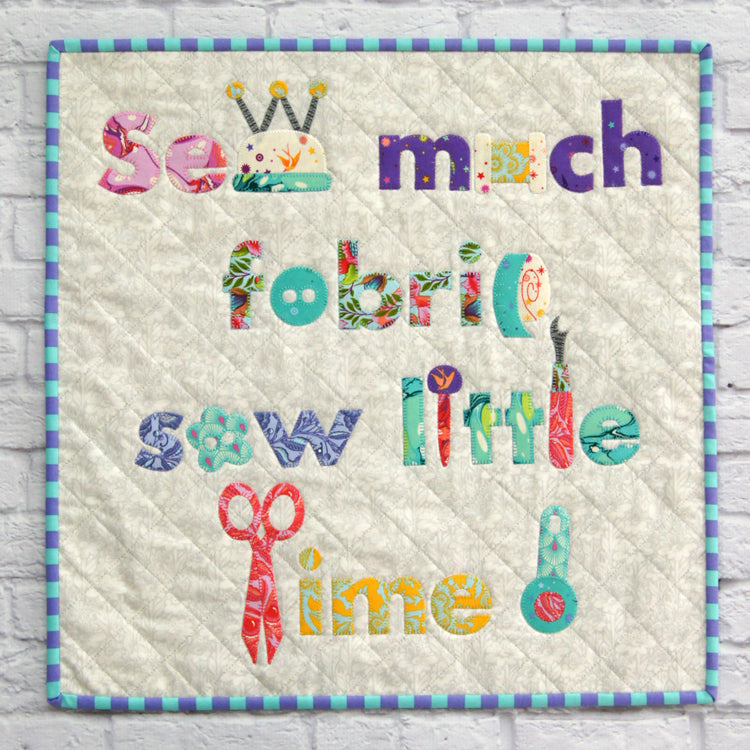 Sew Much Fabric Sew Little Time ! … Quick Cut Kit - Tied with a Ribbon