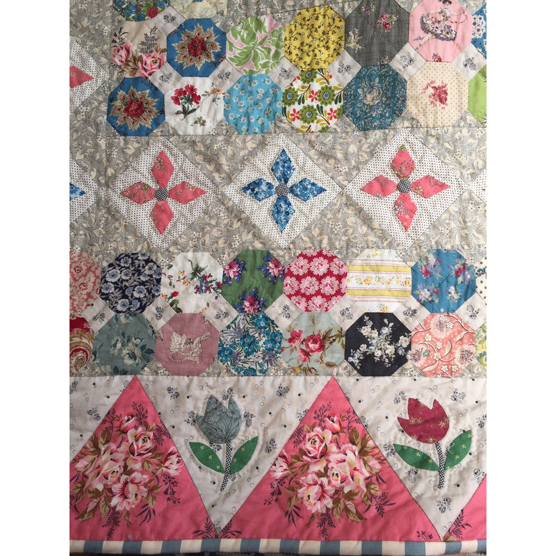 Strafford Mannor Quilt Pattern Booklet by Judy Newman