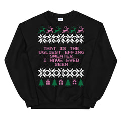 That is the Ugliest Effing Skirt I Have Ever Seen Mean Girls Christmas Sweater
