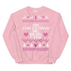 On Wednesdays We Wear Pink Mean Girls Christmas Sweater