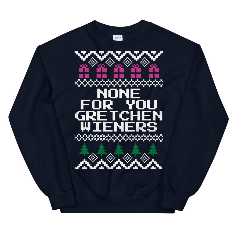 Mean Girls None For Gretchen Wieners Christmas Sweater