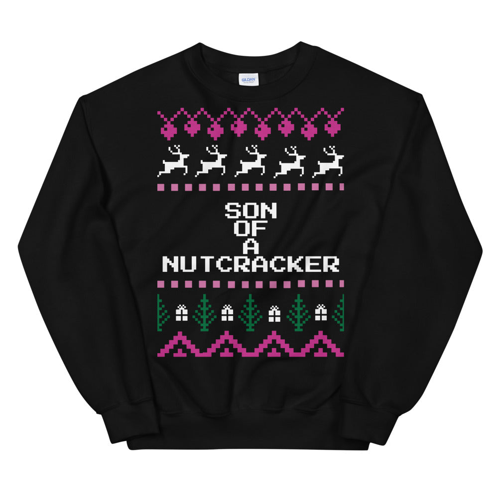 Elf Son of a Nutcracker Christmas Sweater | Tipsy Aunt