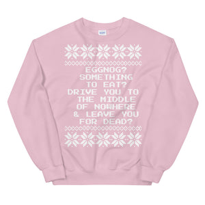 Drive You to the Middle of Nowhere Christmas Sweater | Tipsy Aunt