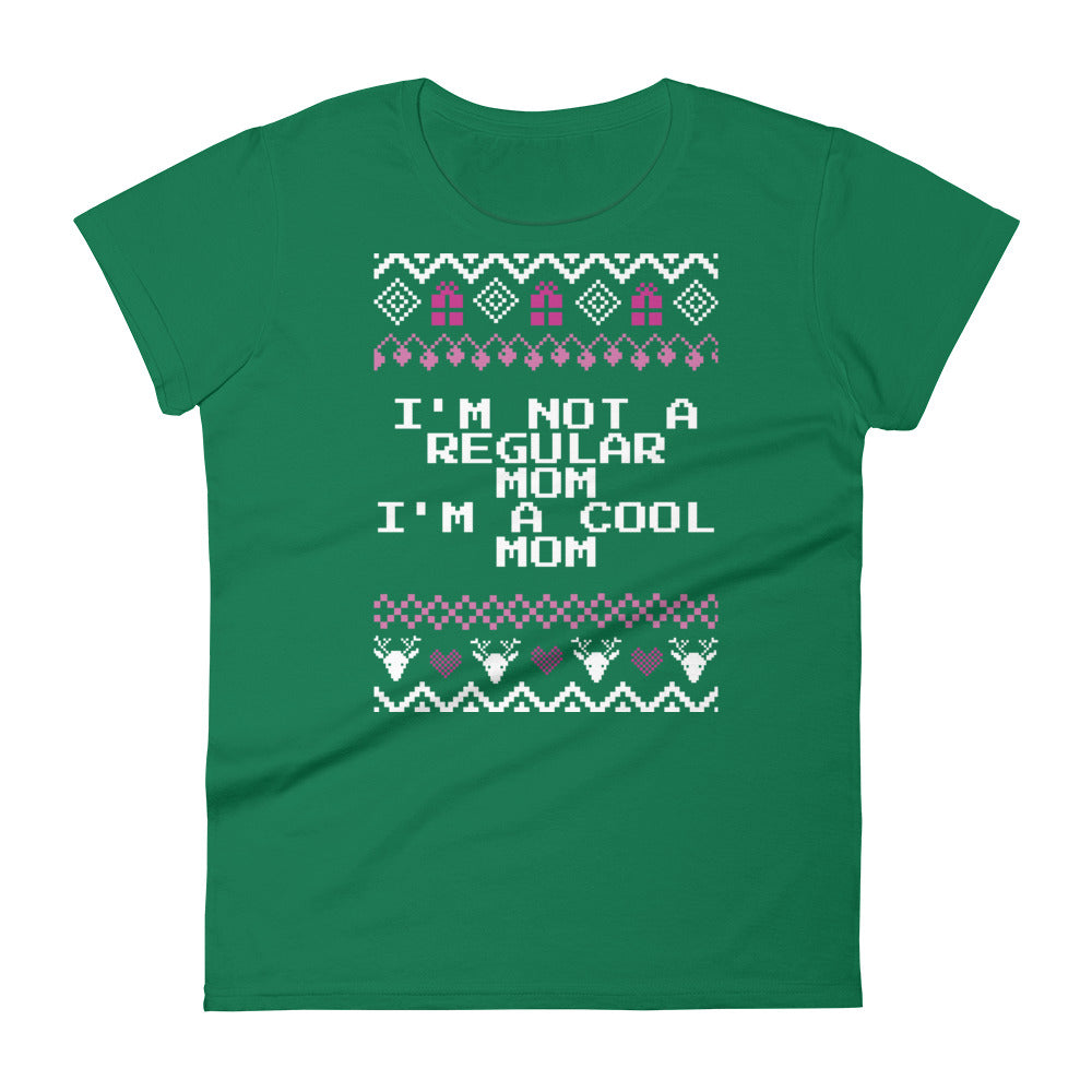 I'm Not a Regular Mom I'm a Cool Mom Christmas Tee | Fetchonista