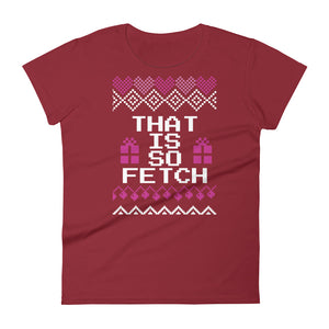 That is So Fetch Christmas Tee | Fetchonista