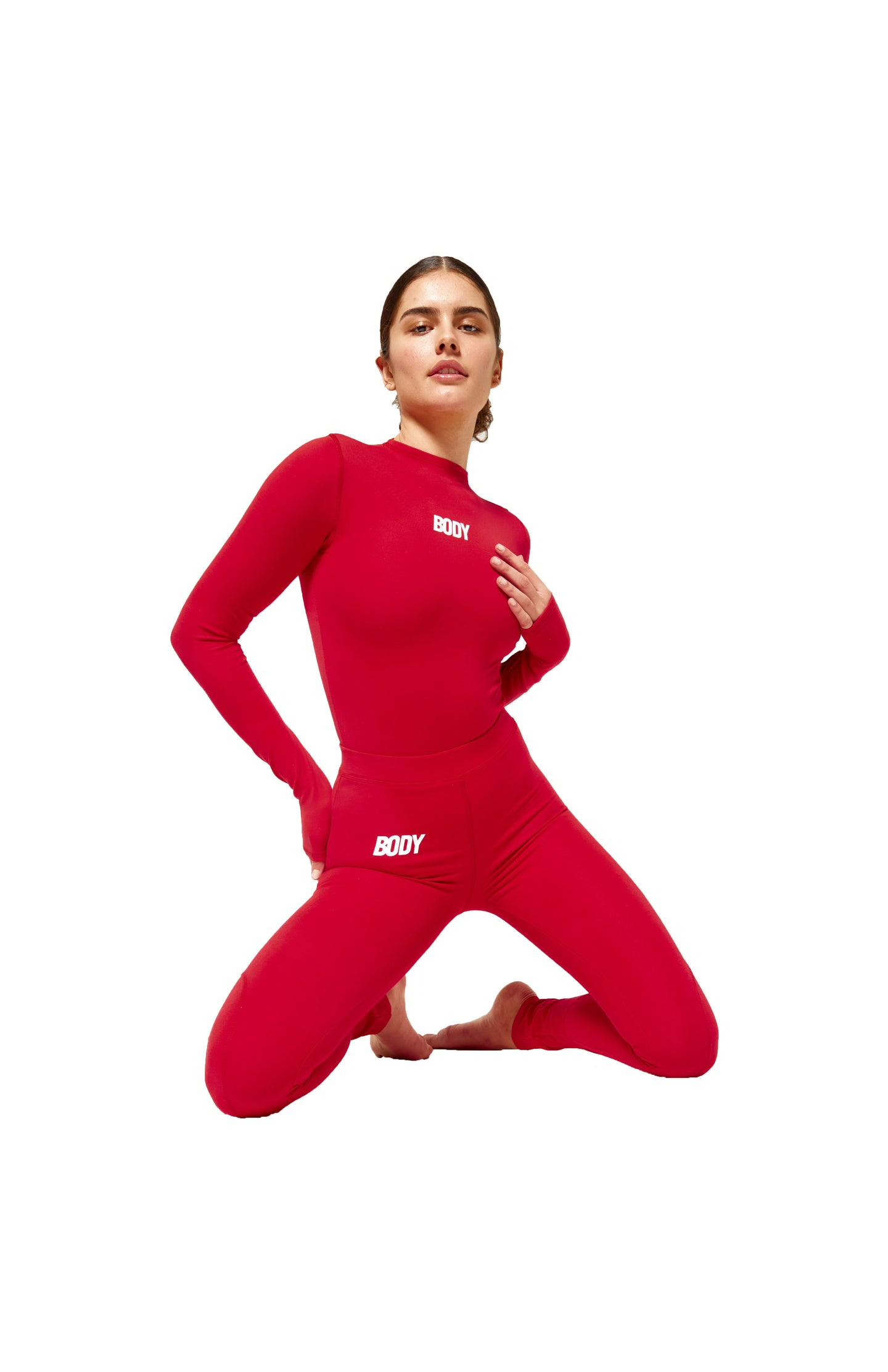 BODY LOVE LEGGINGS (RED)