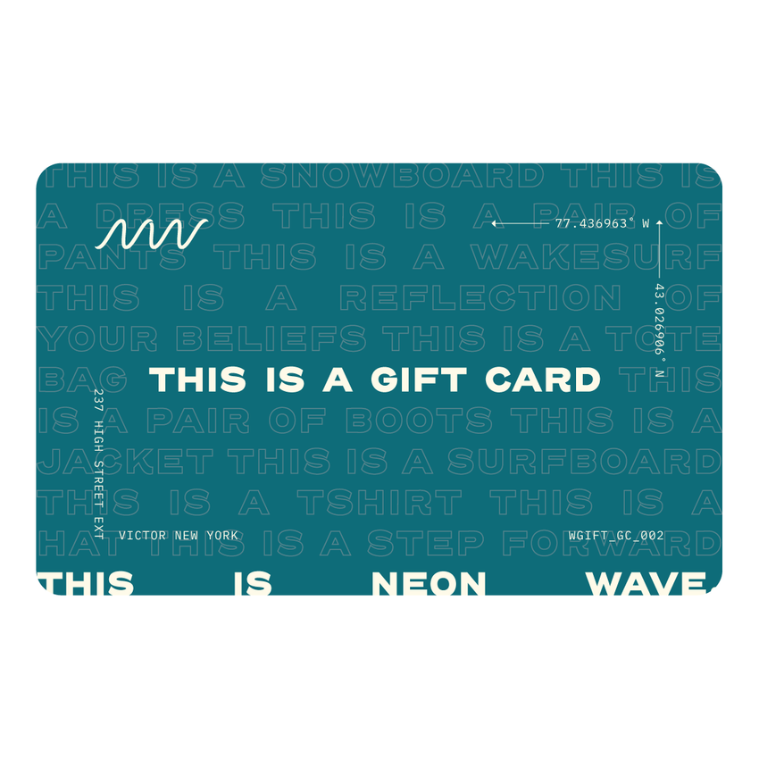 Neon Wave Gift Card