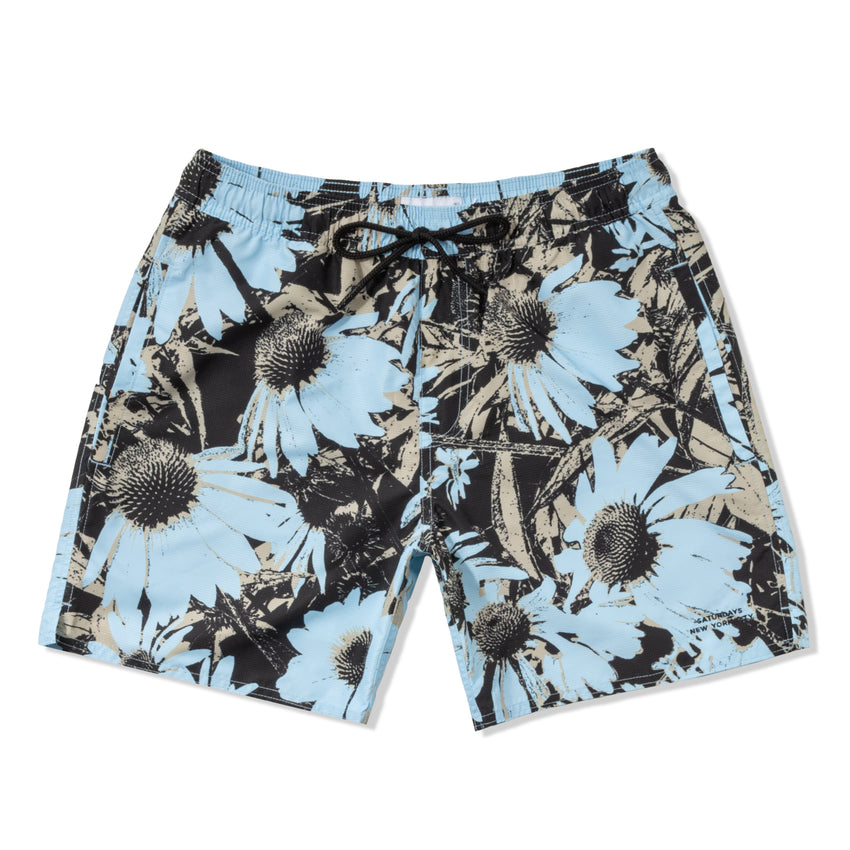 Timothy Daisy Print Swim Short