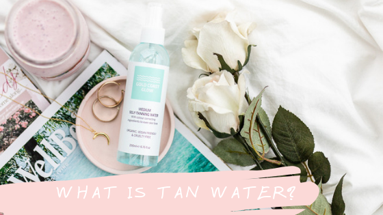 Tan water? What the what?