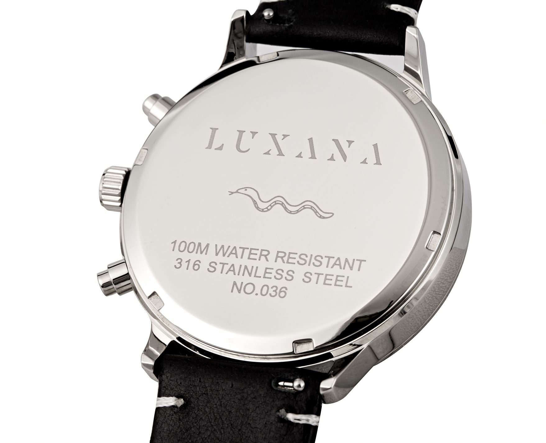 Luxana Watches Caseback