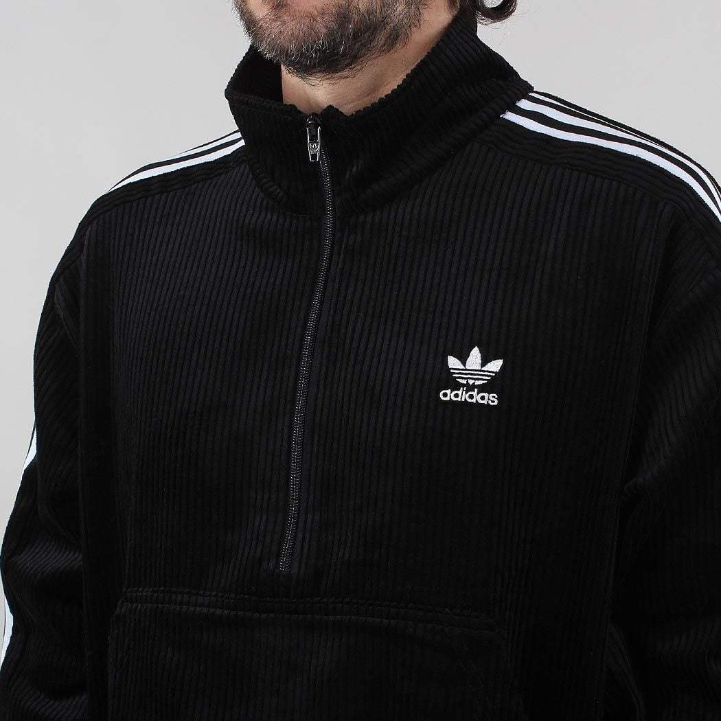 Adidas Originals Corduroy Half Zip Jacket