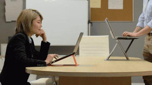 MOFT Z: The 4-in-1 invisible sit-stand laptop desk - Koolpop Indonesia