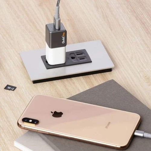 Qubii: Auto Backup While Charging Your iPhone - Koolpop Indonesia