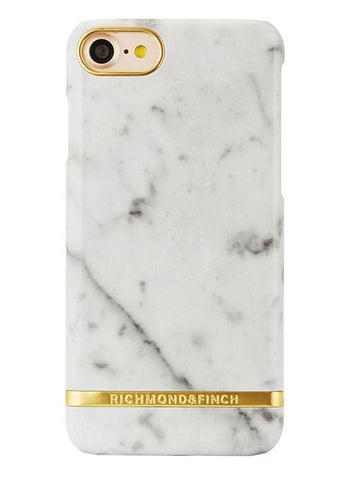 RF IPHONE 6+/6S+ WHITE MARBLE GLOSSY - Koolpop Indonesia