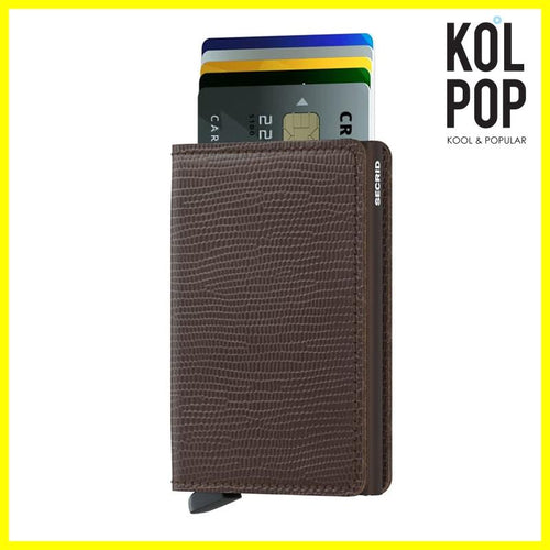 SECRID Slimwallet Rango Brown - Koolpop Indonesia