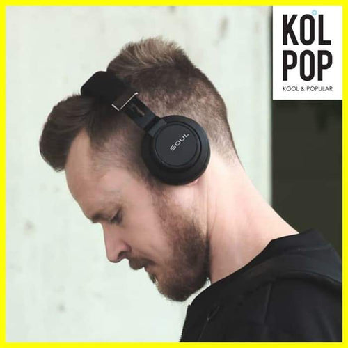 SOUL IMPACT OE Wireless Bluetooth High Efficiency Headphone - Koolpop Indonesia