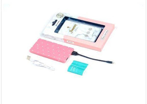 Journey Slimpowerbank 5000MAH Pink Triangle - Koolpop Indonesia