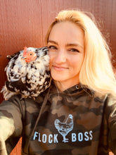 Load image into Gallery viewer, FLOCKBOSS Camouflage Hooded Sweatshirt