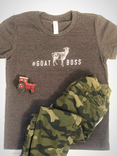 #GOATBOSS Kids T-Shirt