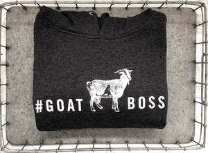 #GOATBOSS Hooded Sweatshirt