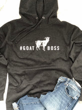 Load image into Gallery viewer, #GOATBOSS Hooded Sweatshirt
