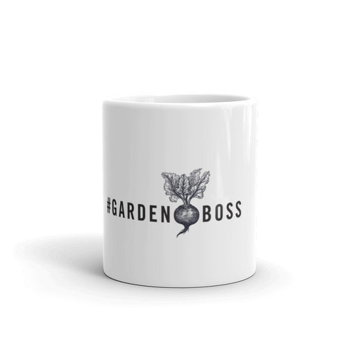 #GARDENBOSS Coffee Mug